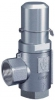 Goetze 418T, Pressure Relief Valve, Adjustable 0.5-30 Bar, Stainless Steel Bodied, 3/8