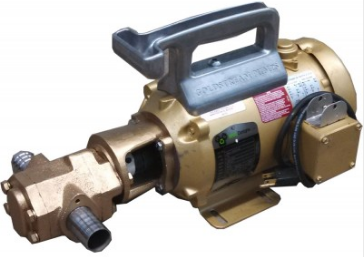 Goldstream Portable Gear Pumps for Oils 75 lpm, Cast Iron, Max 200 Celcius