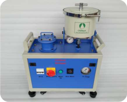 Oilybits Hydraulic Oil Filtration System, for Water and 0.1 Micron Particle Removal