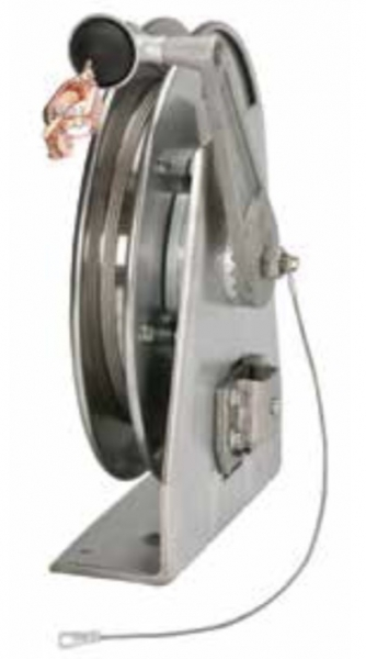 Hannay Static Grounding Reel, Stainless Steel