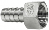 316 Stainless Steel Female Hose Tail, 150LB BSP