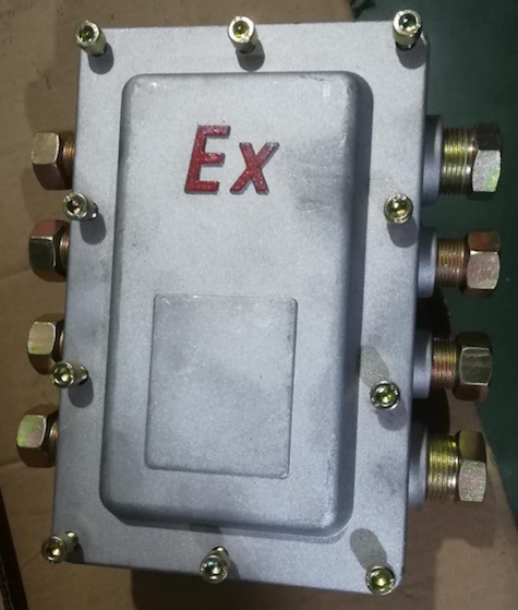 Maide Machine Co, JH8 'Flame Box' Terminal Box, ATEX Approved