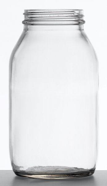 Flint Glass Clear Glass Jars, 30ml to 500ml