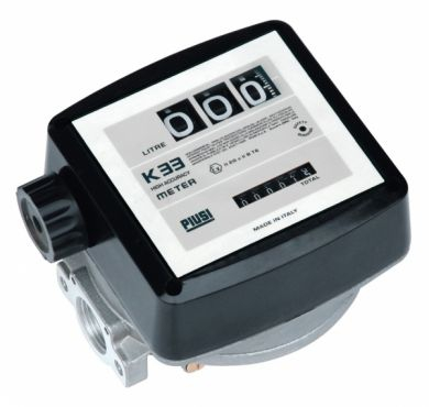 Piusi K33 ATEX Nutating Disc Flow Meter, ATEX Approved