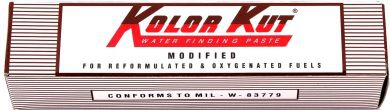 Kolor Kut Modified Water Finding Paste (For Ethanol / Gasoline Blends)