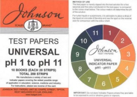 Litmus Paper, PH 1-11 200 Strips