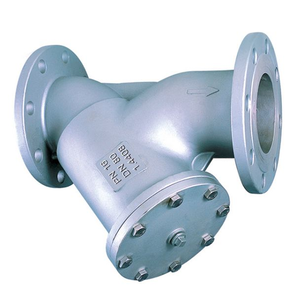 Y-Strainer, 316 Stainless Steel, PN16 Flanged