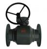 Ball Valve, Geared Handwheel, A105 Carbon Steel, BS EN 1092-1 PN16 Flanged
