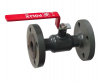 Ball Valve, Lever Handle, A105 Carbon Steel, BS EN 1092-1 PN16 Flanged