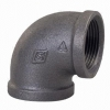 Malleable / Black Iron, EN1256, Elbow FF, 90 Deg., Fig.90