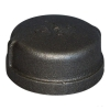Malleable / Black Iron, BS143, Cap - Round, Fig.301