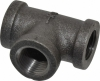 Malleable / Black Iron, BS143, Tee, Equal, Fig.130