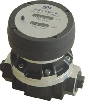 Maide Machine Co, OGM-A Aluminum Oval-Gear Meters, BSP Threaded