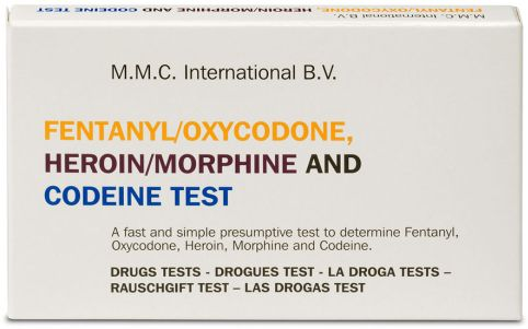 MMC Test Kits (Pack of 10) Fentanyl/Oxycodone, Heroin/Morphine and Codeine