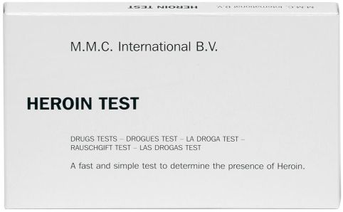 MMC Test Kits (Pack of 10) Heroin (White, Brown and Black Tar)