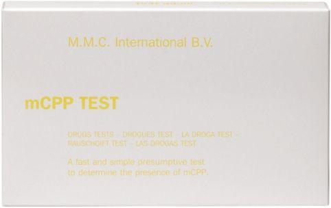 MMC Test Kits (Pack of 10) Meta-Chlorophenylpiperazine (mCPP)