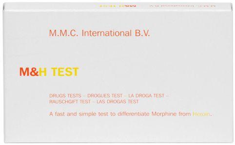 MMC Test Kits (Pack of 10) Morphine & Heroin