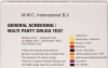 MMC Test Kits (Pack of 10) Multi-Party Drugs and General Screening