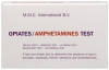 MMC Test Kits (Pack of 10) Opium Alkaloids; Heroin, Amphetamines, Methamphetamine, Demerol, and Black Tar