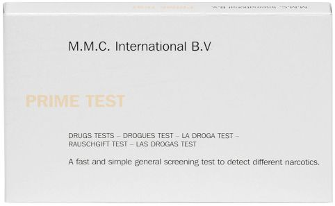 MMC Test Kits (Pack of 10) PRIME, Narcotic Alkaloids, Heroin, Morphine