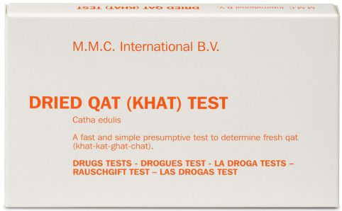 MMC Test Kits (Pack of 10) Qat (Khat) DRIED
