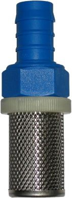 Hose End Strainer, Nylon and SS316