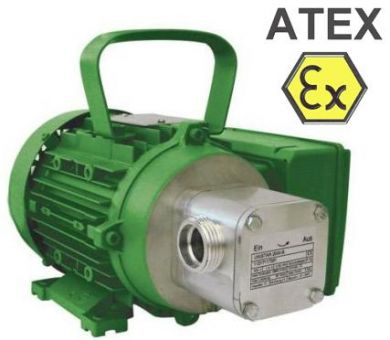 Zuwa Zumpe, Flexible Impeller Pumps, Motor Driven (Aluminium), ATEX Approved