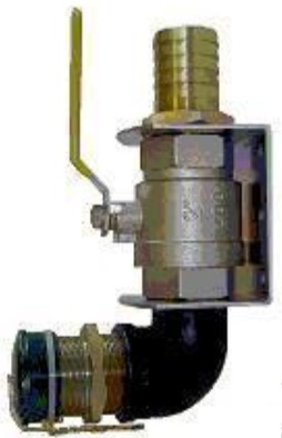 "Offset Fill Assembly for Diesel Tanks, 2""BSP Male Parallel Connection"