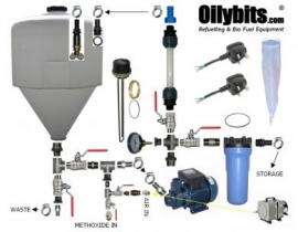Oilybits Biodiesel Processor Kits, 60 and 120 Litre