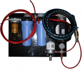 Oilybits Black Diesel Filtration System with Centrifuge