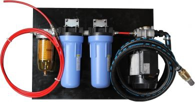 Oilybits Black Diesel Filtration System