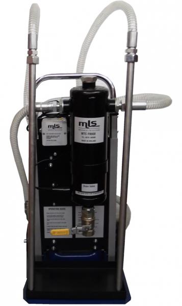 Oilybits trolley-mounted, portable Water Separator Vessel
