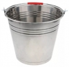 Fuel Sampling Bucket, Stainless Steel with Bottom Band, Welded, Fitted With Grounding Cable and RACO Clip. 12L, 16L and 20L