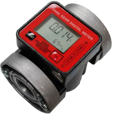 Piusi K600 Oval Gear Flow Meter
