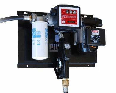 Piusi ST with Meter & Filter, Wall-Mounted Fuel Dispensing System