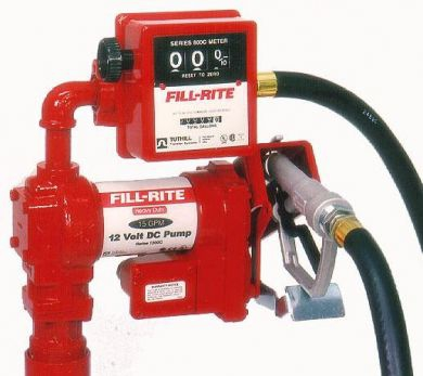 Fill Rite FR705 & FR311 AC Pumps With Meter, ATEX Approved