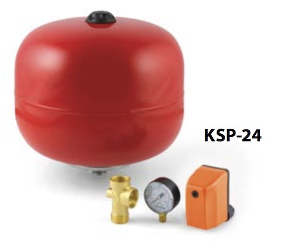 Pedrollo Spherical Accumulator Tank KIT