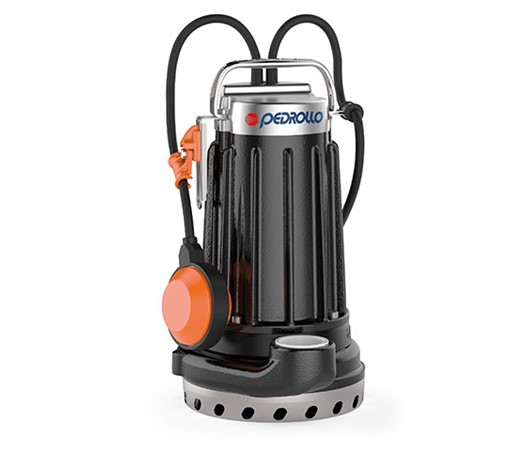 Pedrollo DC Submersible Drainage Pump - For Clear or Slightly Dirty Water
