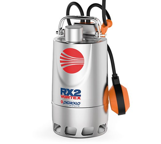 Pedrollo RX 2-3-4-5 Vortex Submersible Pumps for Dirty Water