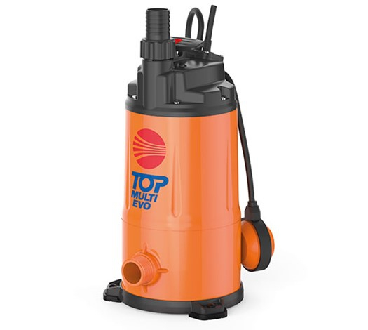 Pedrollo Top Multi Evo Submersible Multi-Stage Pump for Clear Water