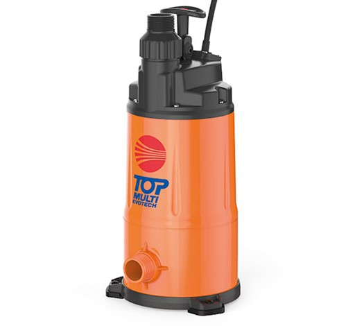 Pedrollo Top Multi Evotech Multi-stage Automatic Submersible Pump for Clear Water