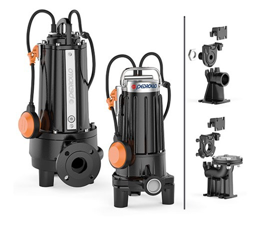 Pedrollo TRITUS Submersible Grinder Pump for Sewage