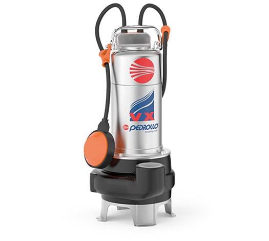 Pedrollo VX Vortex Submersible Pump for Sewage