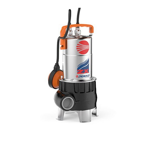 Pedrollo ZX Vortex Submersible Pump for Very Dirty Water