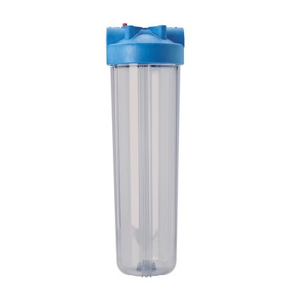 "Pentek, Pentair 20"" Big Clear / Wide Diameter, Polypropylene / Polycarbonate Filter Housing"