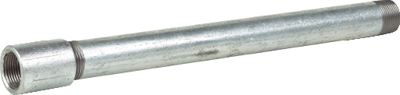 TATA Install Plus 235, Galvanised Steel Pipe, Medium, BSPT, EN10255/10217-1, 3.25m