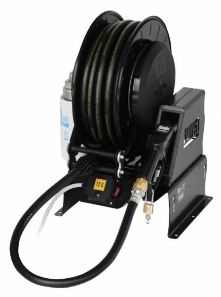 Piusi Pitstop DC, Fuel Transfer Pump & Hose Reel
