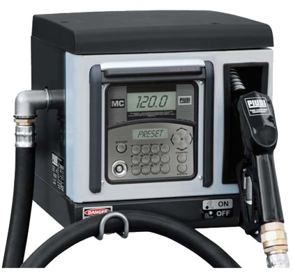 Piusi Cube 70 MC, Electronic Fuel Management System