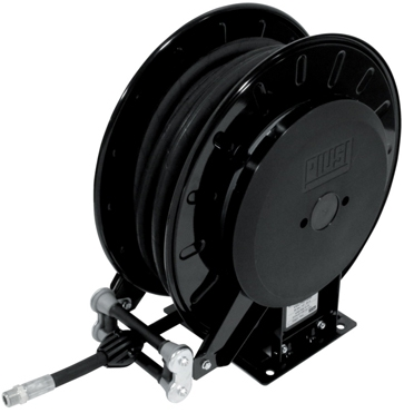 Piusi Automatic Air / Water Hose Reel, Open