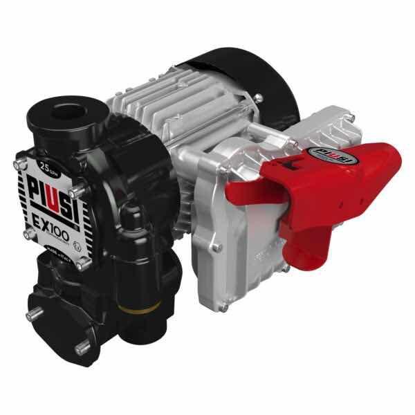 Piusi EX100, Vane Pump for Petrol, ATEX Approved
